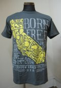 BORN FREE6 TシャツDESIGNED by VNM