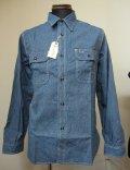 シュガーケーン(SUGARCANE)JEAN CORD ワークシャツ ジーンコードストライプ SC25511