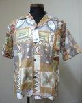 Urban Hawaiianアロハシャツ半袖-Brown