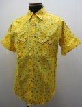 ロックマウント(Rockmount)ドット・ウエスタン半袖シャツ - Yellow