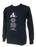 Porter Bicycle Style L/S Tee Black