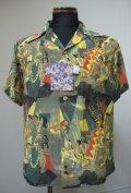 DENIME(ドゥニーム) カメハメハ・ハワイアン半袖シャツ