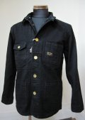 ウエストライド(WESTRIDE)13FW RIDING COVERALL JKT -BLK DENIM 【送料無料】