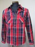 ACOUSTIC(アコースティック)56157ワークシャツ - RED