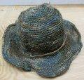 GOHEMP(ゴーヘンプ) HILAND HAT - MIX BLUE