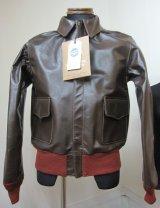 バズリクソンズ(BUZZ RICKSON'S)A2ジャケット赤リブ1942モデル【送料無料】