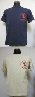 DUBBLE WORKSダブルワークス Lot 33005(LOCAL 76)プリント半袖Tシャツ