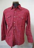 Deadstock Blue Bear ウエスタンシャツ - Red