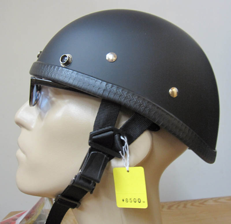画像1: JACKSUN'S(ジャックサンズ)EAGLE NOBELTY HELMET-DULL BLACK