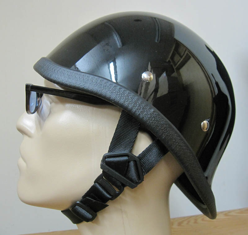 画像1: JACKSUN'S(ジャックサンズ)HAWK NOBELTY HELMET-HI GLOSS BLACK