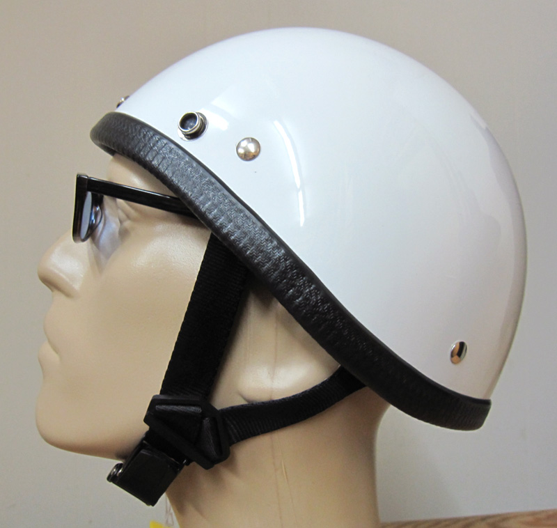 画像1: JACKSUN'S(ジャックサンズ)SMOKEY NOBELTY HELMET-WHITE