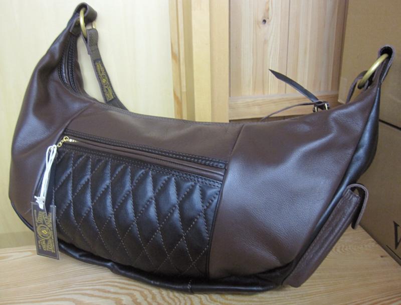 画像1: WESTRIDE(ウエストライド)RIDING SHOULDER BAG -Limited Brown【送料無料】