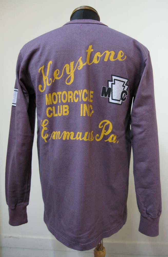 画像1: ウエストライド(WESTRIDE)Keystone ヘビーウェイト・ロングスリーブ - Purple
